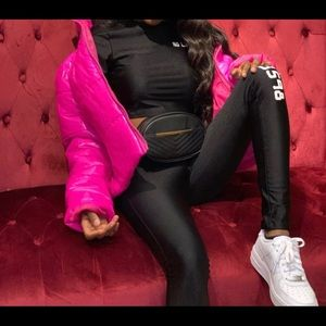 No Limit Long Sleeve Black Tights and Top Set